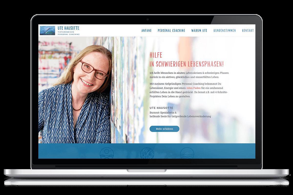 Erstellung Webdesign - utehausotte.com